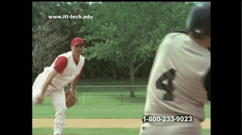 ITT Technical Institute TV Spot 'Baseball Player'