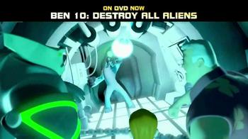 Ben 10: Destroy All Aliens DVD TV Spot - Thumbnail 4