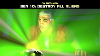 Ben 10: Destroy All Aliens DVD TV Spot - Thumbnail 5