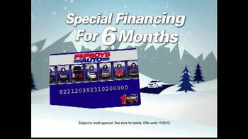PepBoys Winter Dollar Days TV Spot  - Thumbnail 4