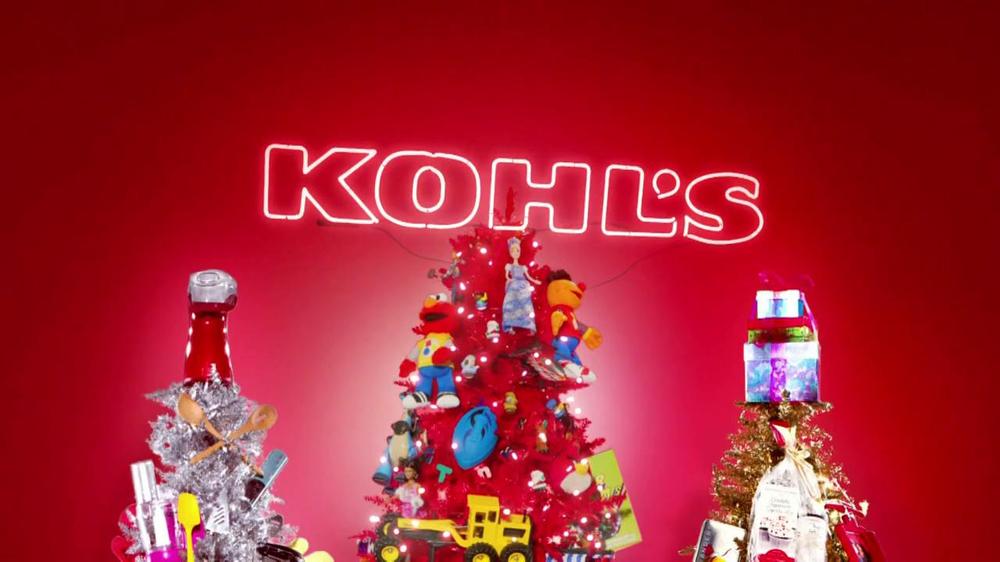 Kohls Christmas Trees.Kohl S Tv Commercial Dream Video