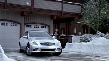 Infiniti G37 TV Spot, 'Snowball Fight' Featuring Henry Rollins