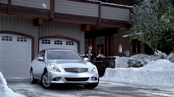 Infiniti G37 TV Spot, 'Snowball Fight' Featuring Henry Rollins - 1223 commercial airings