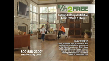 Empire Today Buy 1, Get 2 Free Sale TV Spot  - Thumbnail 9