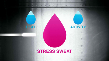 Secret Clinical Strength TV Spot, 'Stress Sweat' - Thumbnail 8