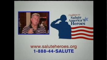Coalition to Salute America's Heroes TV Spot Featuring Mike Ditka  - Thumbnail 9