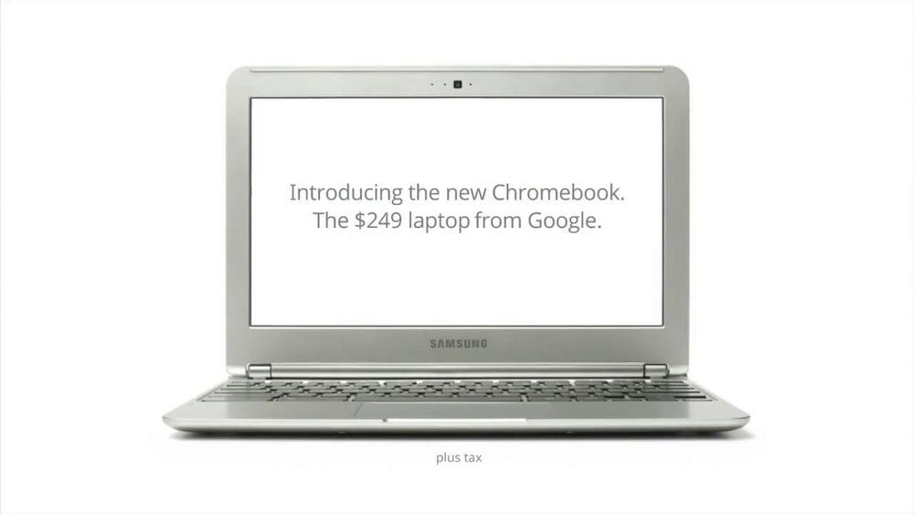 google chromebook ad song