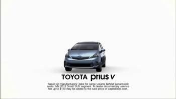 Toyota Prius V TV Spot, 'Family' - Thumbnail 1