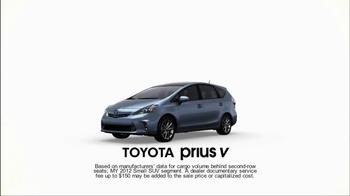 Toyota Prius V TV Spot, 'Family' - Thumbnail 2