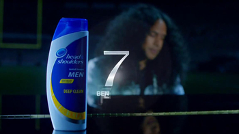 Head & Shoulders Deep Clean TV Spot Featuring Troy Polamalu - Thumbnail 7