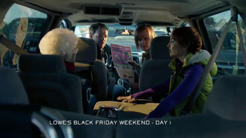 Lowe's Black Friday Sale TV Spot