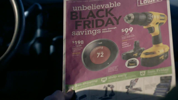 Lowe's Black Friday Sale TV Spot - Thumbnail 2