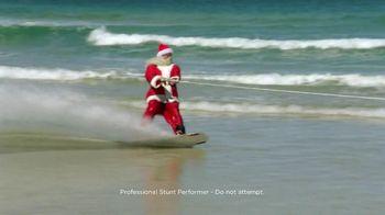 Outback Steakhouse TV Spot, 'Wakeboarding Santa'