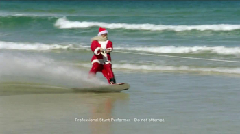 Outback Steakhouse TV Spot, 'Wakeboarding Santa'