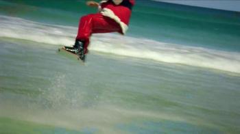 Outback Steakhouse TV Spot, 'Wakeboarding Santa'  - Thumbnail 2