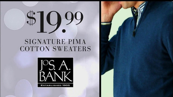 JoS. A. Bank Black Friday TV Spot, 'Cotten Sweaters' - Thumbnail 8