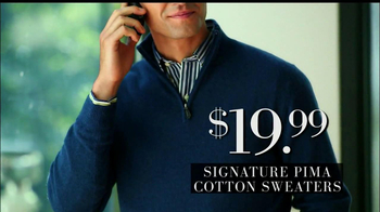 JoS. A. Bank Black Friday TV Spot, 'Cotten Sweaters' - Thumbnail 3