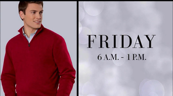JoS. A. Bank Black Friday TV Spot, 'Cotten Sweaters' - Thumbnail 6