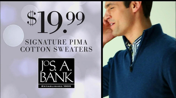 JoS. A. Bank Black Friday TV Spot, 'Cotten Sweaters' - Thumbnail 7