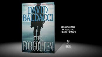The Forgotten by David Baldacci TV Spot - Thumbnail 7
