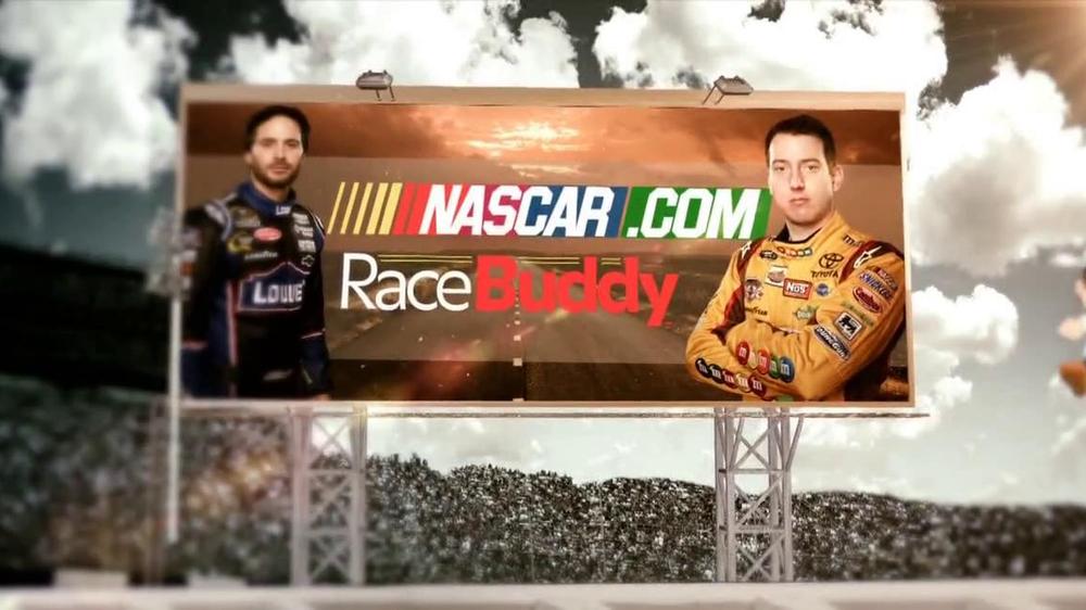 NASCAR Race Buddy TV Commercial, 'Camera Views'