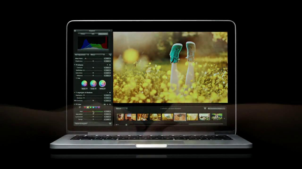 Apple 13-Inch MacBook Pro TV Commercial, \'Colors\' Featuring Peter ...