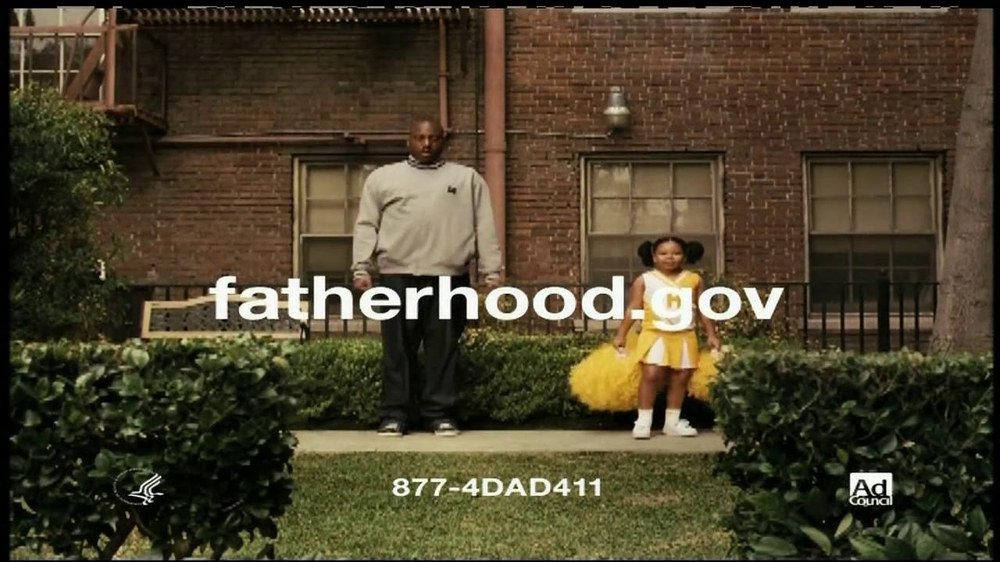 National Responsible Fatherhood Clearinghouse TV Commercial 'Cheerleader Dad'