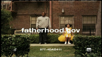 National Responsible Fatherhood Clearinghouse TV Spot 'Cheerleader Dad'