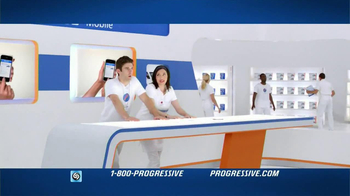 Progressive Mobile TV Spot, Song Wang Chung - Thumbnail 7