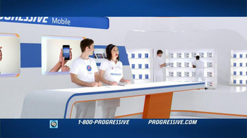 Progressive Mobile TV Spot, Song Wang Chung - Thumbnail 2