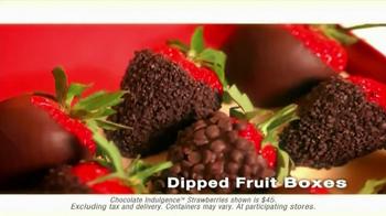 Edible Arrangements Dipped-Fruit Boxes TV Spot