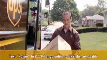 UPS TV Spot, 'Now Hiring Seasonal Drivers'