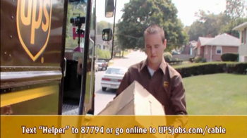 UPS TV Spot, \'Now Hiring Seasonal Drivers\'