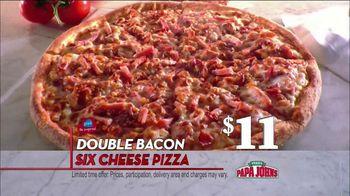 Papa John's TV Spot, 'Double Bacon' - 363 commercial airings