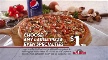 Papa John's TV Spot, 'Double Bacon' - Thumbnail 8