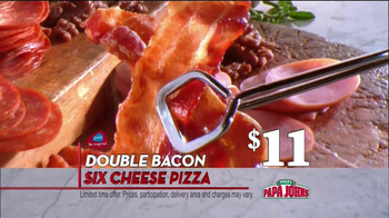 Papa John's TV Spot, 'Double Bacon' - Thumbnail 3