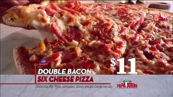 Papa John's TV Spot, 'Double Bacon' - Thumbnail 5