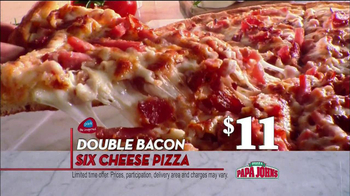 Papa John's TV Spot, 'Double Bacon' - Thumbnail 6