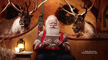 Rosetta Stone TV Spot, 'German-Speaking Santa' - Thumbnail 8