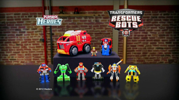 Transformers Rescue Bots TV Spot, 'Time to Roll' - Thumbnail 6