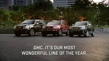 GMC SUV TV Spot, 'Most Wonderful Time of the Year'  - 626 commercial airings