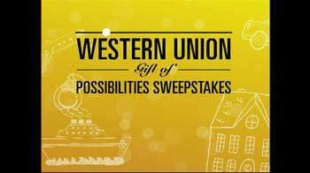 Western Union TV Spot, 'Possibilites Sweepstakes' - Thumbnail 4