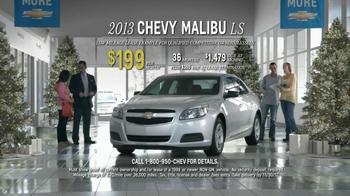 Chevrolet Malibu LS TV Spot, 'Santa Salesman' - Thumbnail 8