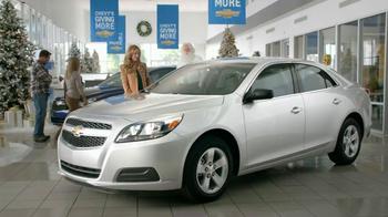 Chevrolet Malibu LS TV Spot, 'Santa Salesman' - Thumbnail 2