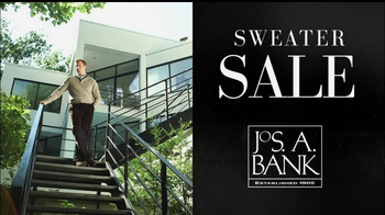 JoS. A. Bank Sweater Sale TV Spot  - 15 commercial airings