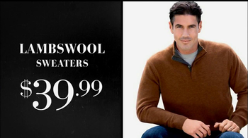 JoS. A. Bank Sweater Sale TV Spot  - Thumbnail 3