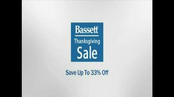 Bassett Thanksgiving Sale TV Spot  - Thumbnail 1