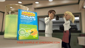 Emergen-C Immune Plus TV Spot, 'Resaurant'