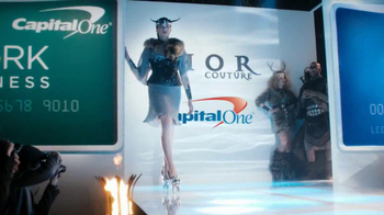 Capital One Spark Business TV Spot, 'Fashion Show'  - Thumbnail 6