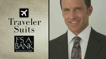 JoS. A. Bank Traveler Suits TV Spot - 14 commercial airings